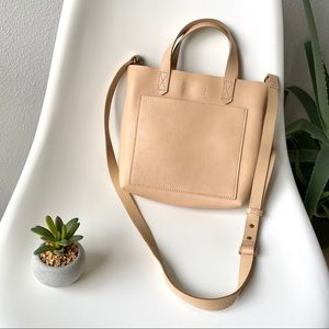 Madewell Small Leather Transport Crossbody